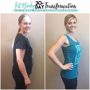 Fit Body Weight Loss - Before & After