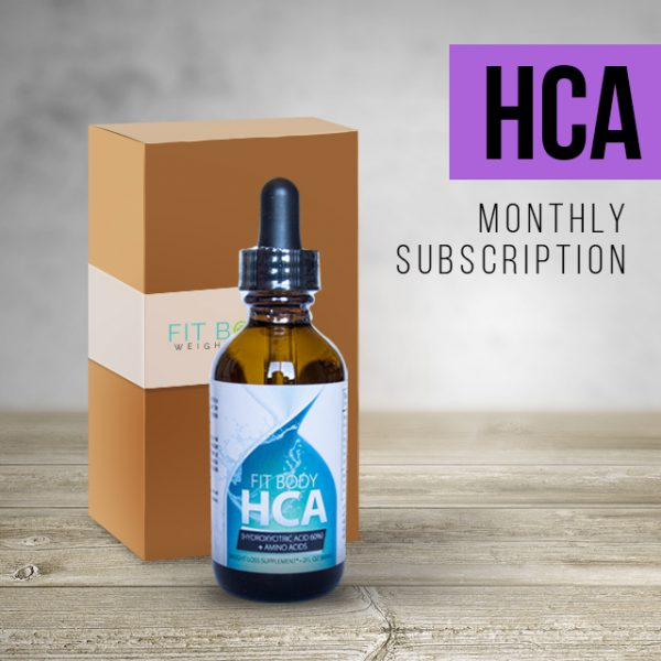 Fit Body Weight Loss HCA Subscription
