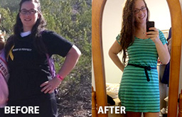 Sarah Fit Body Weight Loss Before and After Photo