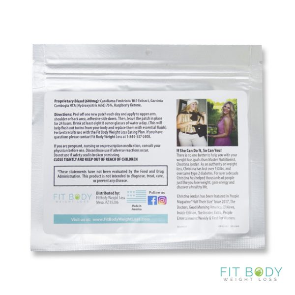Fit Body Weight Loss Forever Fit Slimming Patch