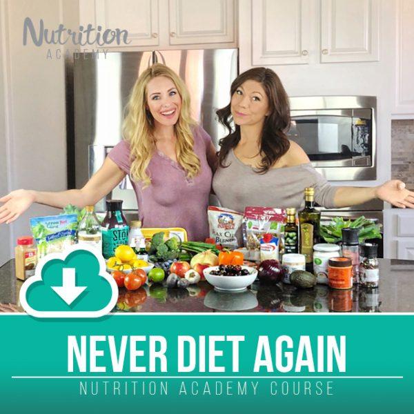 Nutrition Academy Never Diet Again Eat Like A Nutritionist