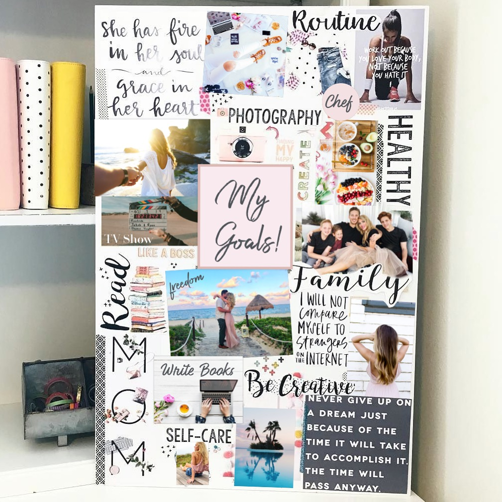 How To Vision Board For Beginners – Fit Body Weight Loss