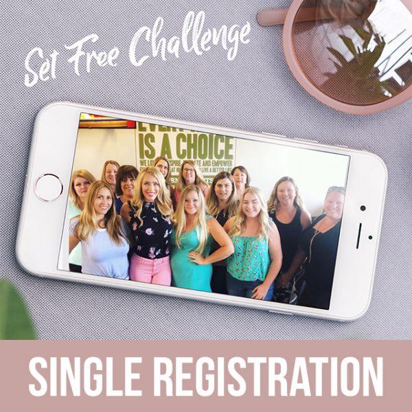 Set Free Challenge - Single Registration